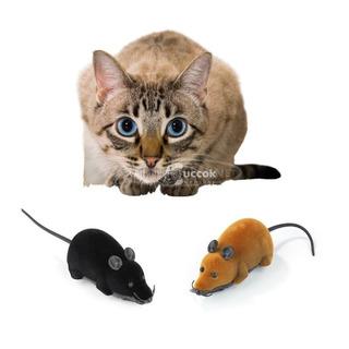Macska játék - Távirányítós egér (szürke)