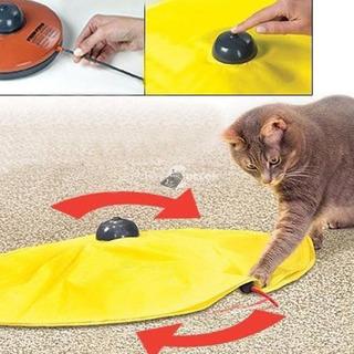 Egérfogócska cica játék