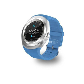 Sport okosóra, pulzusmérő okosóra (kék)
