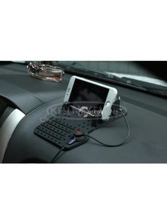Állítható autós telefontartó-telefontöltő