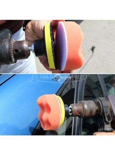 Autó polírozó szett - 3 db polír koronggal