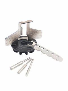 Láncélező készlet - láncfűrész élező adapter