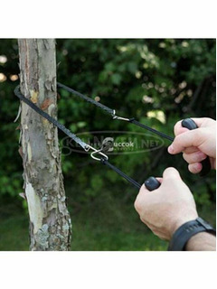 Kézi láncfűrész - kisebb ágak vágására